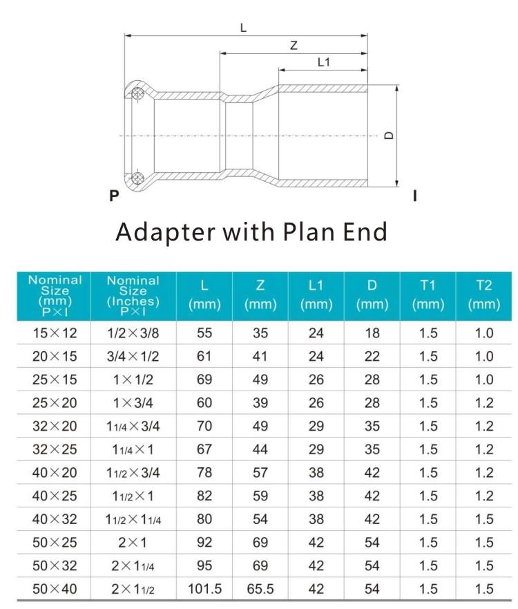reducing adapter