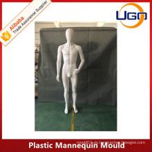 2016 más nuevo molde de plástico masculino maniquí