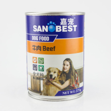 Bom frango saboroso com Duck Wet Dog Food