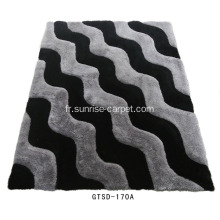 Polyester Soft & Silk Shaggy 3D Carpet