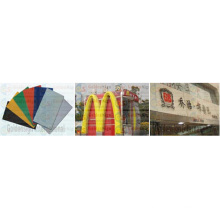 Hoja estable y duradera de PMMA / acrílico para materiales de construcción