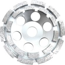 Single Row Diamond Cup Grinding Wheel