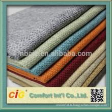 tissu de décoration de haute qualité / tissu de meubles / tissu de sofa