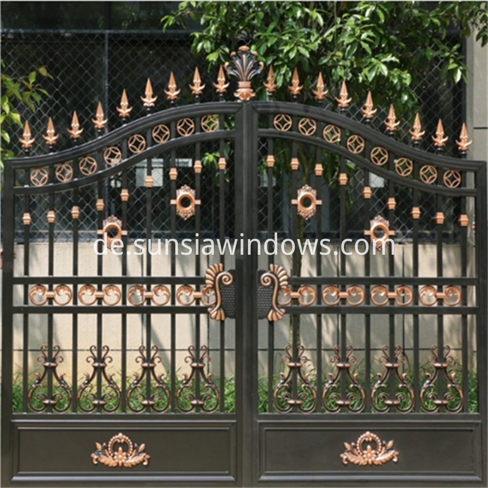 Aluminium Double Swing Gate