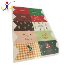 xinxiang China fabrica papel autoadhesivo profesional de la etiqueta engomada, forma modificada para requisitos particulares