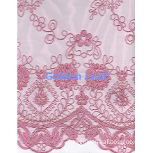 Mixed Embroidery Cord Embroidery Nylon Mesh Garment 2014 Fresh Pattern 26A