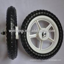 "12""x 1.75"" small plastic EVA foam wheel"
