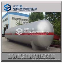 80m3 80kl Q345r tanque de propano horizontal tanque de almacenamiento de GLP