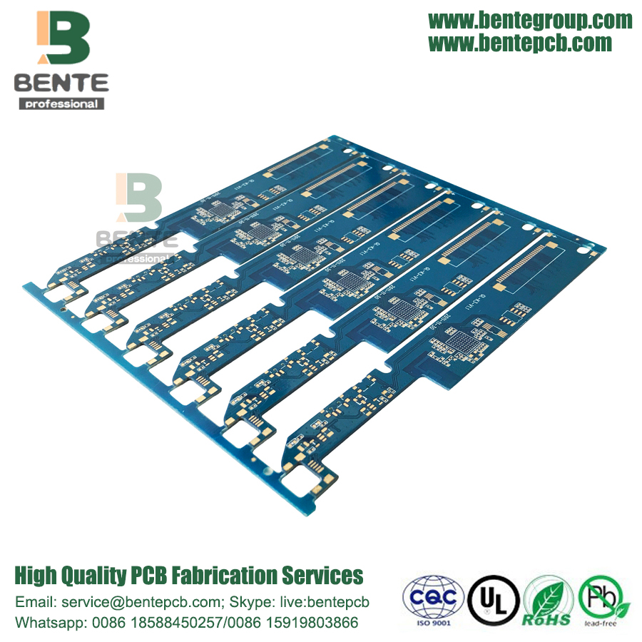 BGA 4 Layers FR4 Tg150 Multilayer PCB