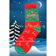Cadeau de Noël pour enfants chaussettes de noel