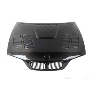 High mold carbon car hood