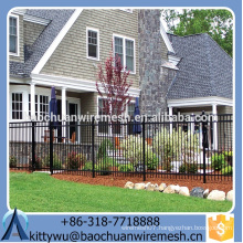 Waterproof Wrought Iron fence , rot proof Aluminum Fence panels, Anti-oxidation steel fence