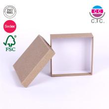 caja de cartón de alta calidad establece al por mayor para la ropa