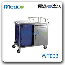 WT008 stainless steel Hospital dressing trolley