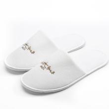 Wholesale chinelos do hotel chinelos brancos