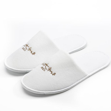 Wholesale hotel slippers white slippers