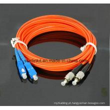 Sc para FC Modo Multimodo Fibra Óptica Patch Cord 3m