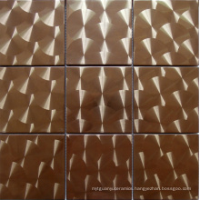Stainless Steel Metal Mosaic Tile (SM247)