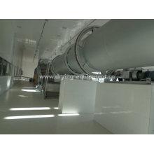 Máquina de secagem de indústria da série HZG Secador de tambor rotativo único