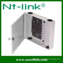 Panel de conexión de fibra óptica FC 12 puertos de montaje en pared