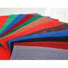 Fábrica de fornecimento de rolos de carpete de veludo macio decorativo