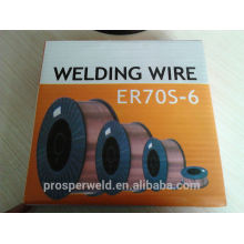 High quality Aws a5.18 Mig co2 welding wire ER70S-6 0.8/0.9/1.0/1.2/1.6mm Manufacturer for Mig co2 welding wire