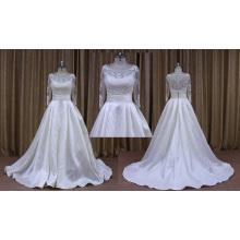 Novo modelo de alta qualidade vestido de noiva retrato real