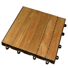 Burma Teak Wood Garden Tile for Outdoor Usage