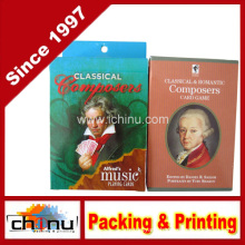 Composer Music Playing Cards Bundle - 2 Items, 1 Alfred′s Music Playing Cards-Classical Composers Deck & 1 Classical & Romantic Composers Card Game (430084)