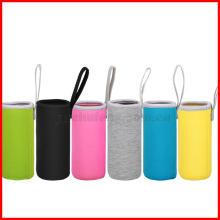 Livraison gratuite! Sac de bouteille d'eau de sport isolant sac porte-pochette en néoprène manchon