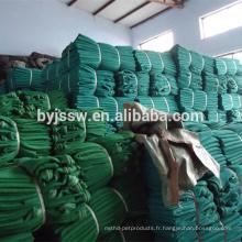 Filet vert de sécurité de construction pour la construction protègent / filet de sécurité à vendre