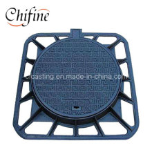 Customized Cast Ductile Iron Manhole Cover for Sale