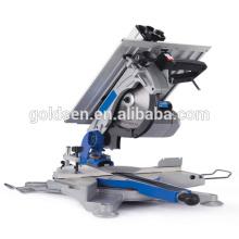 1600W 315mm Niedrige Geräusche Lange Lebensdauer Aluminium Schneiden Induktion Motor Tisch Säge GW8092