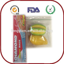 Quickly delivery coloured plastic freezer bags China manufacture