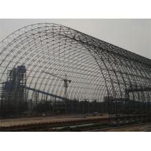 Construcción de techo de acero galvanizado de gran tamaño