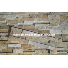 Multicolor Slate Ledgestone Tile for Wall and Floor
