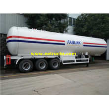 56 CBM 24ton Propane Transportaion Tanker Trailers
