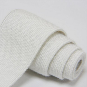 Fire retardant double sided hook loop tape