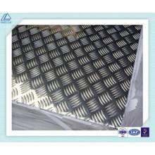 5083 Cinco barras de aluminio placa de diamante