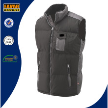 Cold Weather Waterproof Padded Black Body warmer