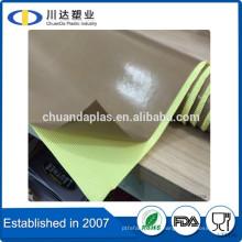 Alibaba fournisseur d'assurance commerciale isolant électroniquement PTFE teflon en verre avec adhésif silicone