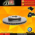 Rotor de frein à disque de frein à pièces auto de qualité OEM haute performance pour fabricant de freins à disque FORD F0SZ1L104A
