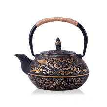 Heiße verkaufende emaillierte Roheisen-Teekanne