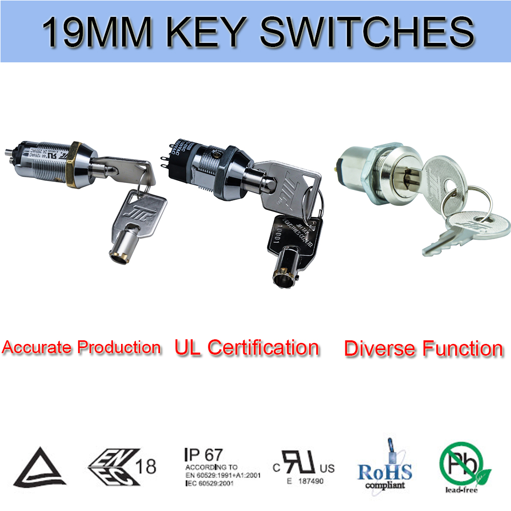 3 postion key switch