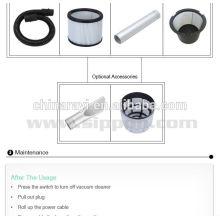 Branco saco de filtro de pó para uso de aspirador de pó