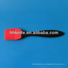 Cepillo de botella de silicona multifunción con dispensador