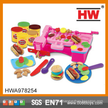 Niños divertidos educativos bricolaje juguete color arcilla de alimentos