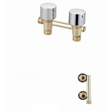 Factory price brass 3 function shower panel mixer standard  bathroom faucets