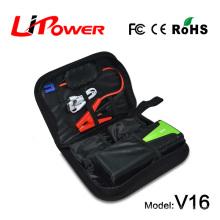 Cargador de batería de emergencia banco de energía automóvil arrancador inicio automático con cremallera carring caso