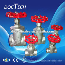 "Hot Sales Thread Brand New High Quality 1/2"" Gate Valve Stainless Steel SUS SS 316 CF8M Heavy Duty"